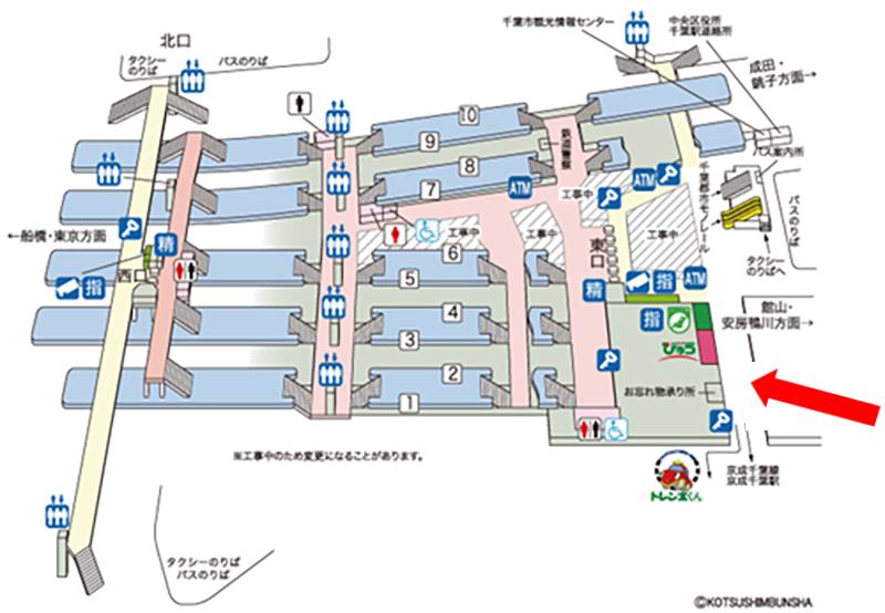 安房鴨川駅(鴨川市/駅)の地図|マピオン